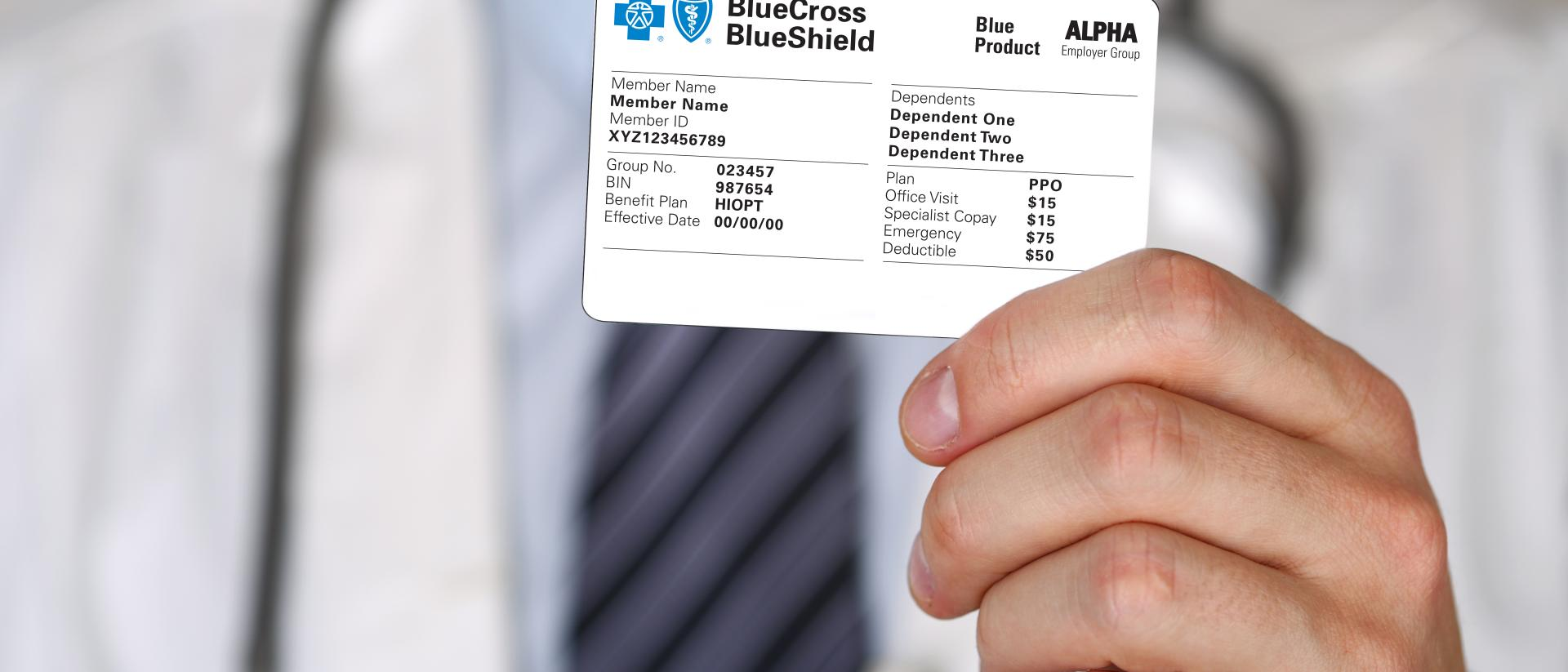 Five things to look for on your BCBS ID card   Blue Cross ...