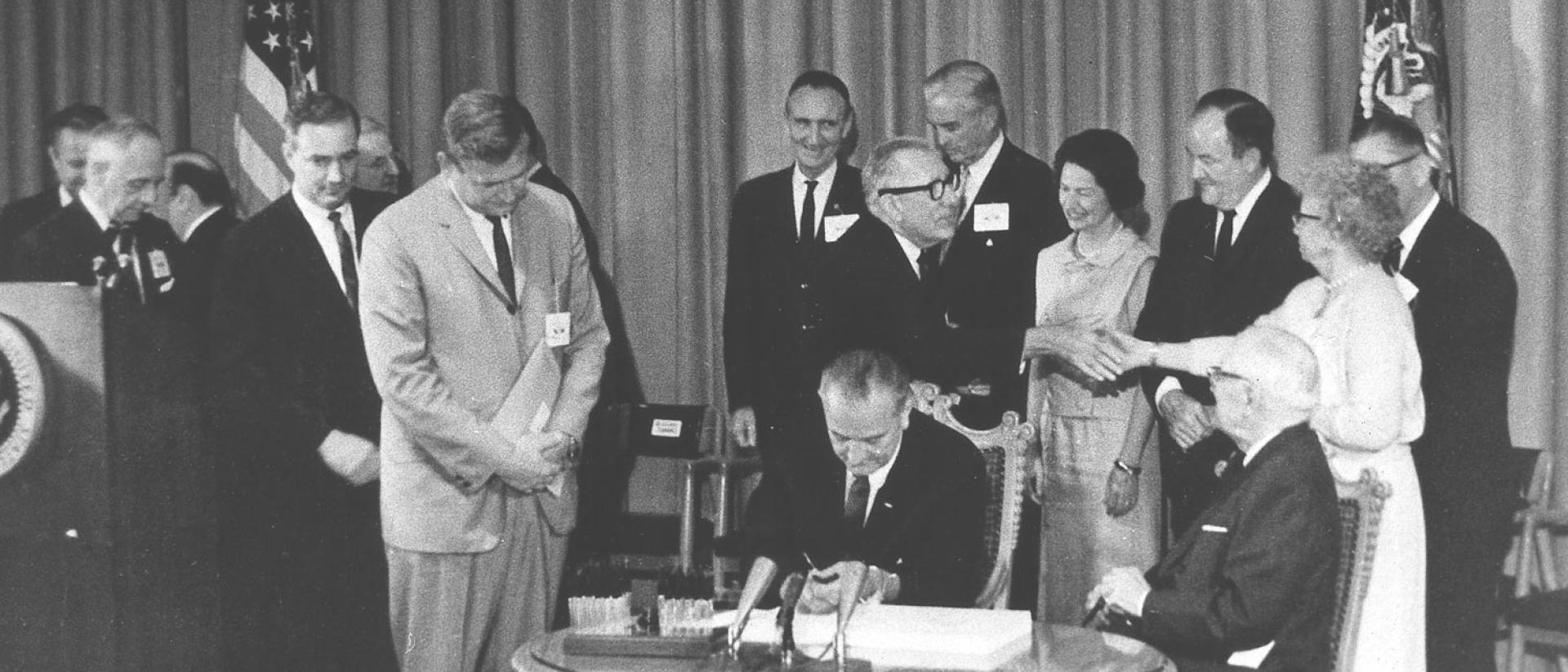Signing of Medicare
