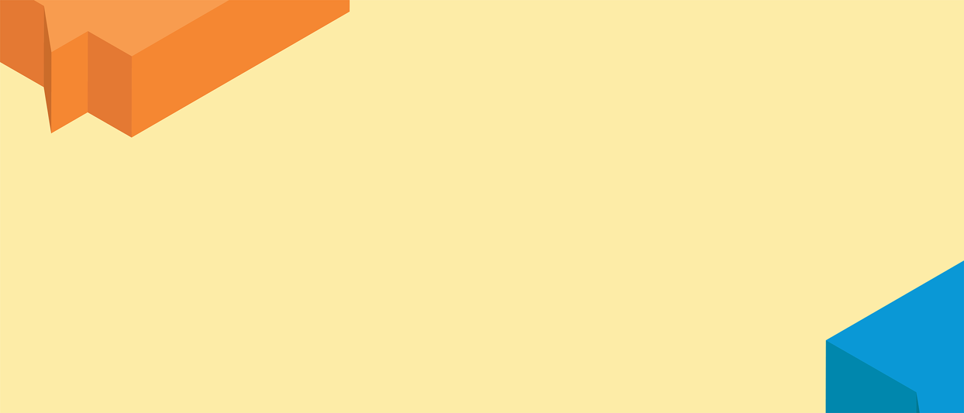 Background graphic with floating boxes