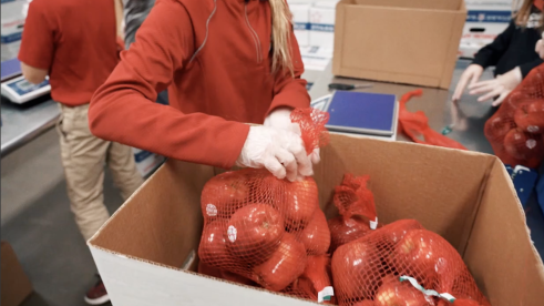 Helping North Dakota's only food bank fight rural hunger