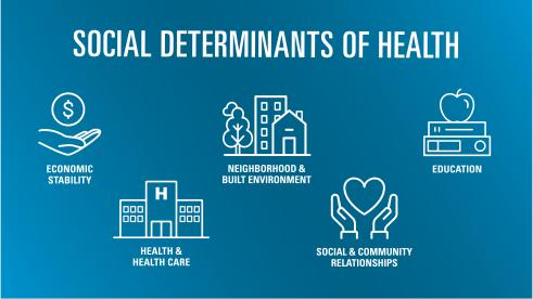 Social Determinants of Health - The Health of America | Blue Cross