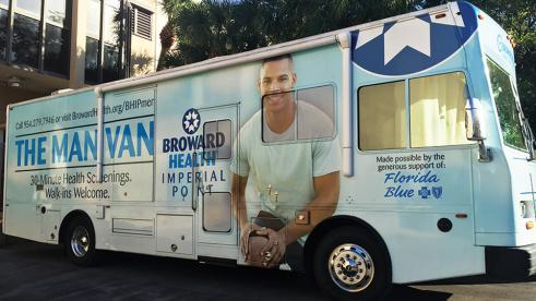 "The new house call: ""Man Van"" puts healthcare on wheels"