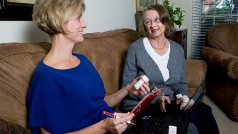 Helping senior citizens manage medication safely