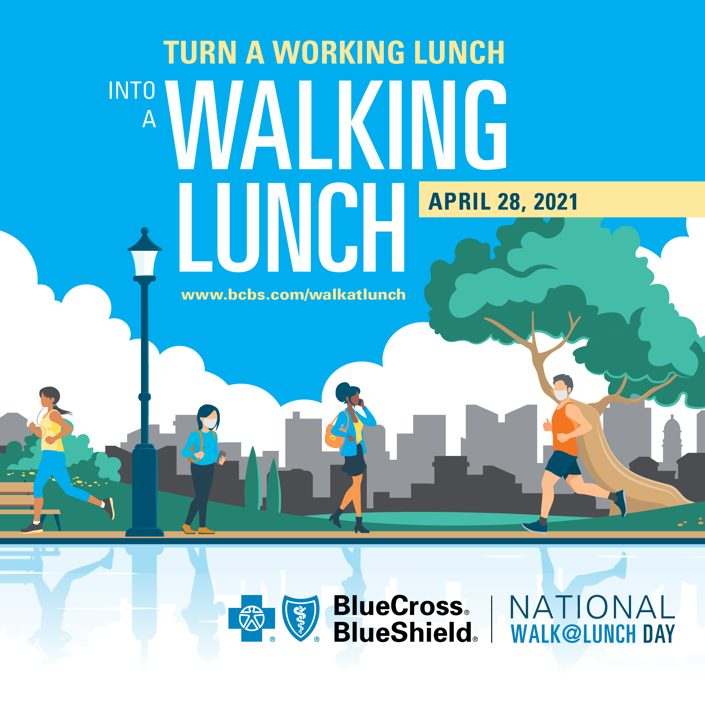 2021 National Walk at Lunch Day