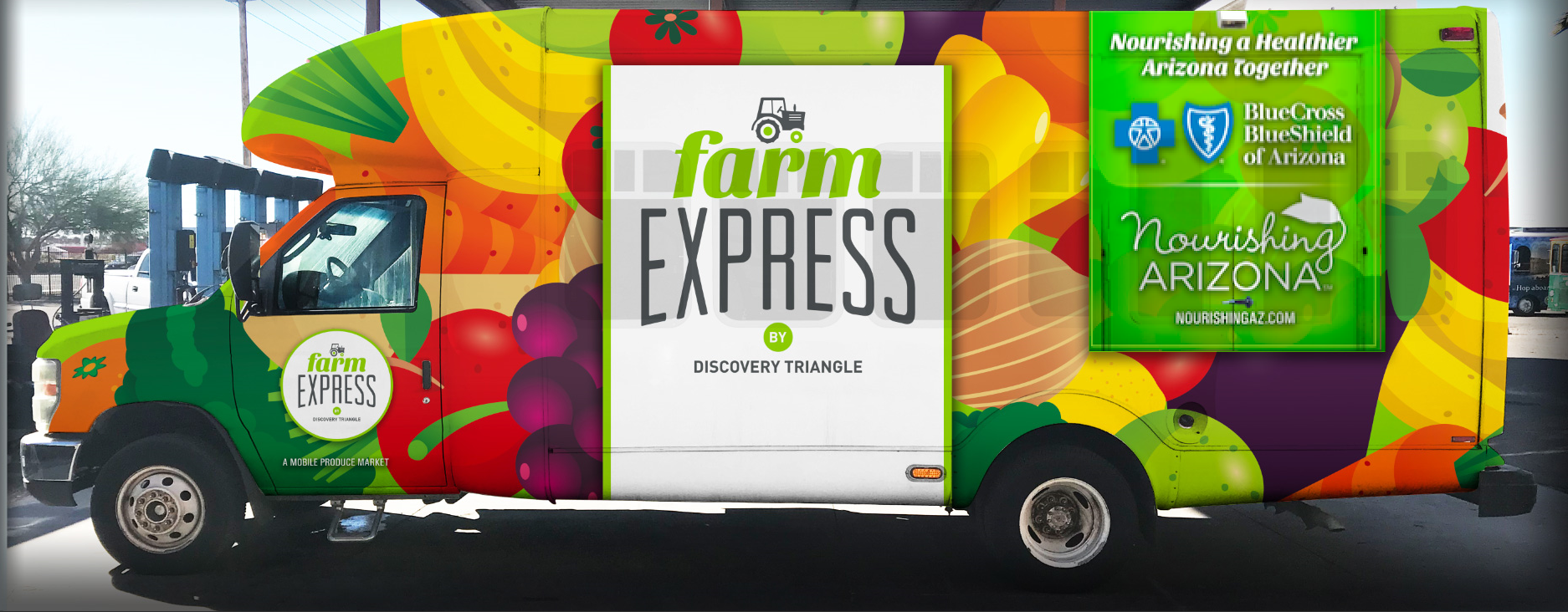 Farm Express bus brings fresh fruits and vegetables to food deserts across the state of Arizona.
