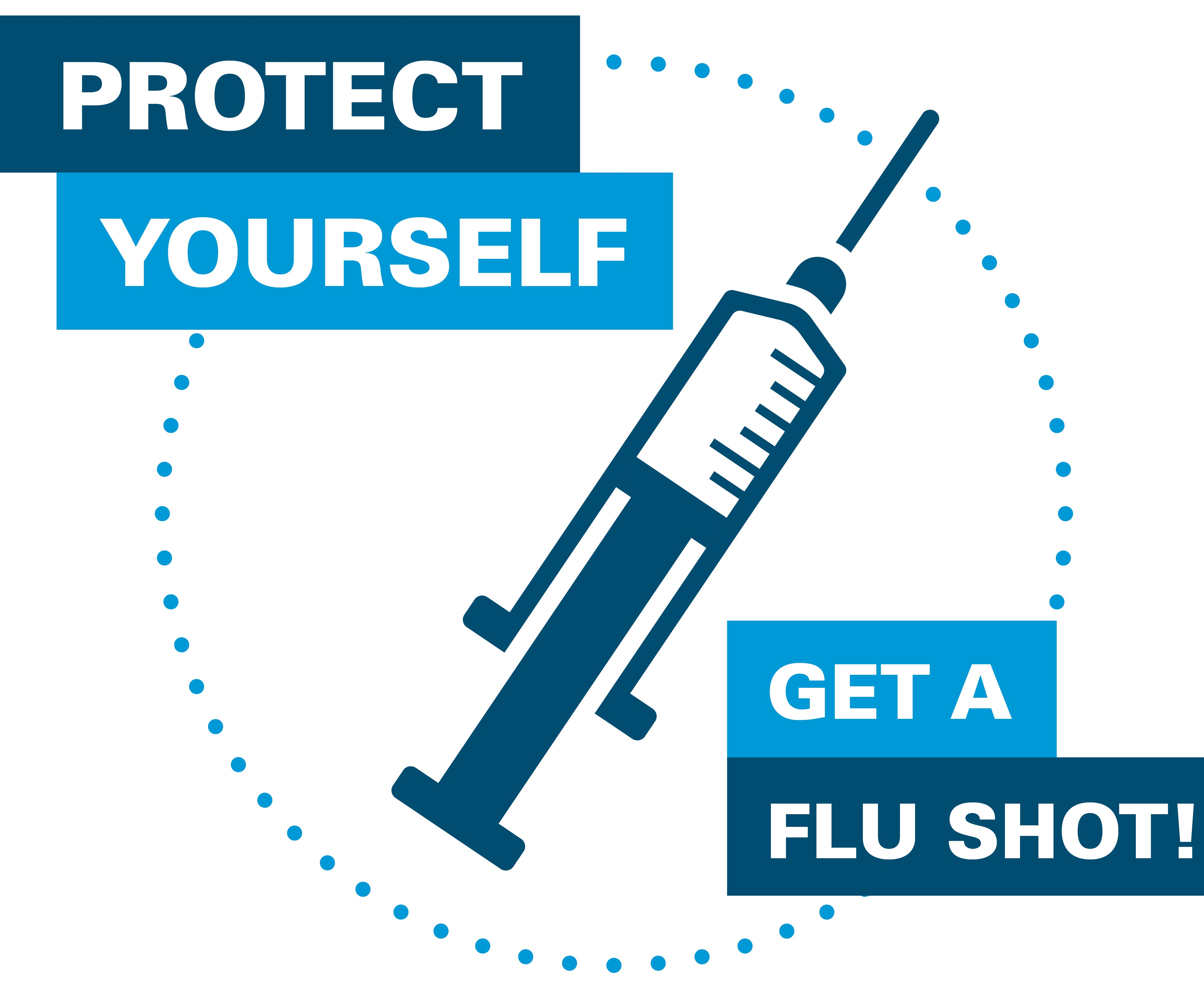 protect yourself with a flu shot