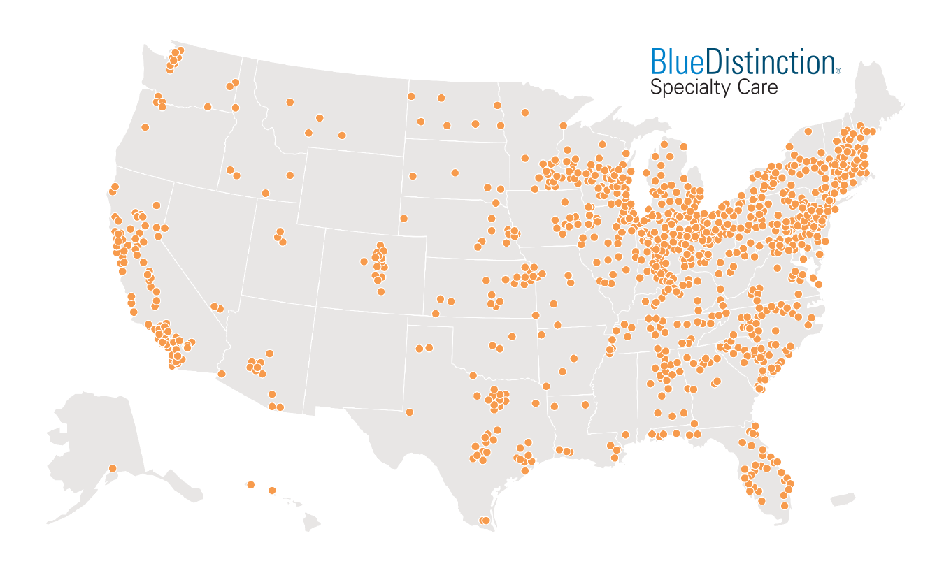 EXHIBIT 6: >1,000 BLUE DISTINCTION CENTERS AND BLUE DISTINCTION CENTERS+ FOR MATERNITY CARE