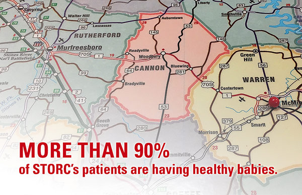 More than 90% of STORC's patients are having healthy babies
