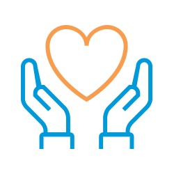 Hands Heart Icon